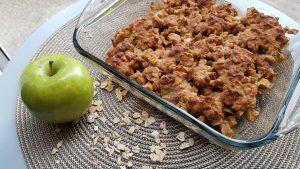 Gluten Free Vegan Apple Crisp