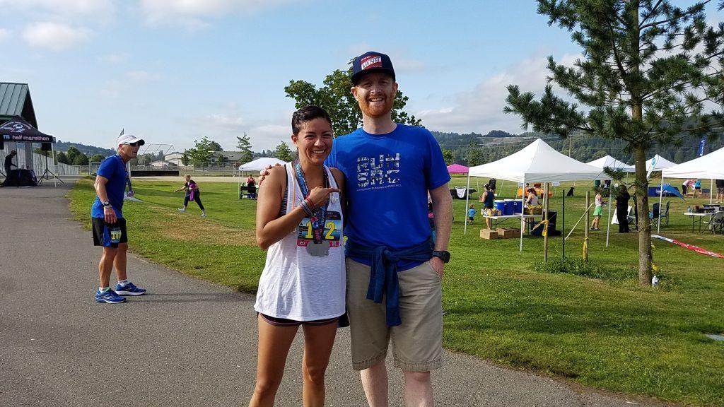 Paola & Race Director, Grant Harrington