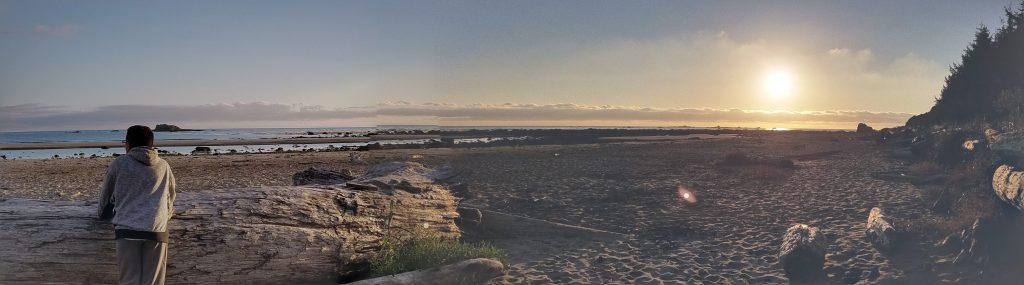 Ozette Lake - Sand Point