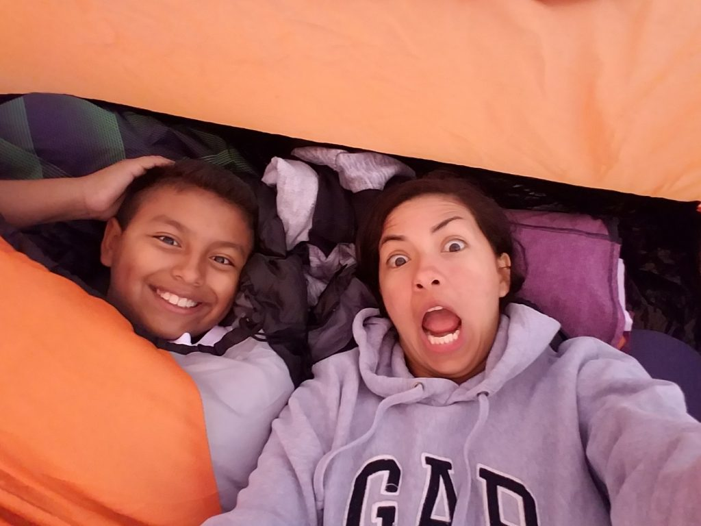 Backpacking silliness